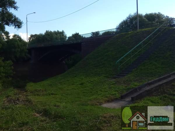 Непецинский мост через Северку Файл загружен из открытых источников.