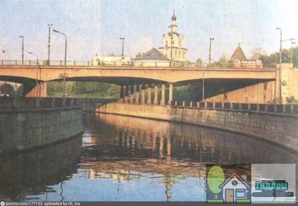 Костомаровский мост в 1975—1979 годах