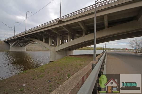 Спасский мост на МКАД