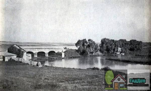 Шипиловская плотина в 1908 году