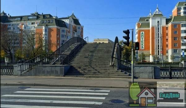 Рубцов мост пешеходный