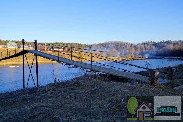 Ожиговский пешеходный подвесной мост