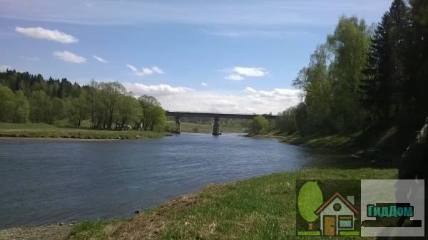 Москворецкий железнодорожный мост у деревни Хрущёво