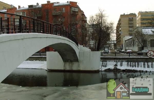 Зверев мост (пешеходный)