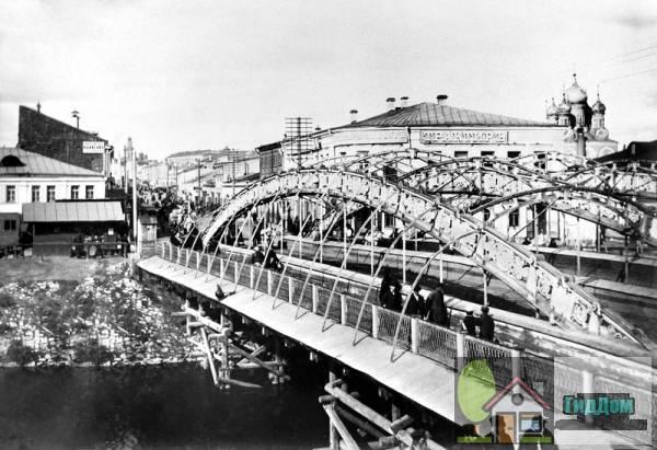Старый чугунный мост