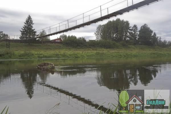Игнатьевский пешеходный подвесной мост