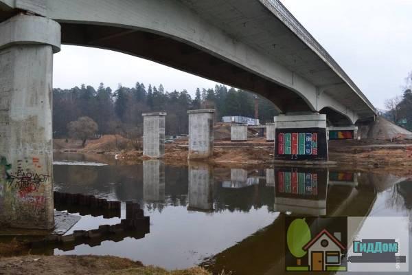 Игнатьевский мост в Звенигороде