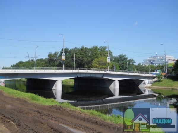 Восточный мост через Сходненский деривационный канал
