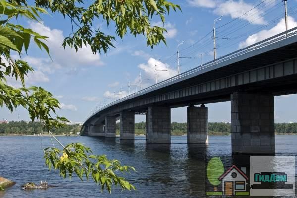 Октябрьский мост в Красноярске