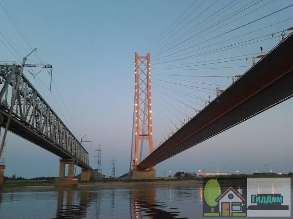 Югорский железнодорожный мост