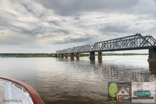 Зеленодольский (Романовский) железнодорожный мост