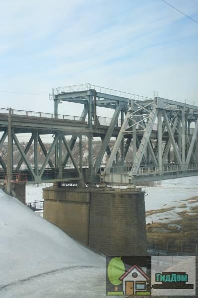 Барнаульский старый мост