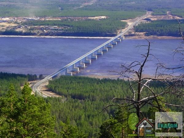 Богучанский мост