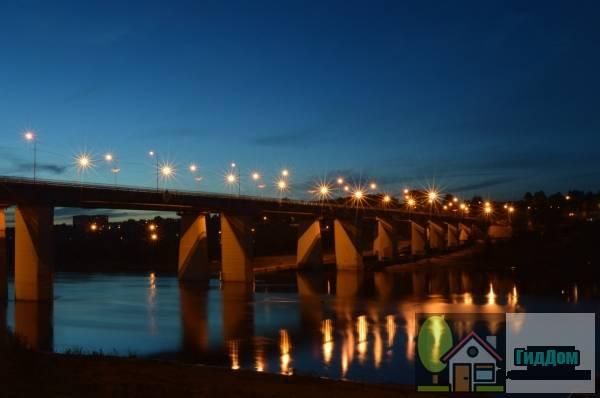 Новый алексинский автодорожный мост