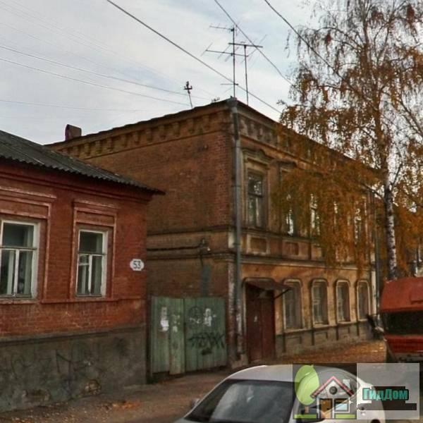 Дом, в котором жил актер Н.К. Симонов