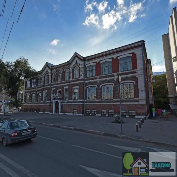 Здание, где находился самарский вхутемас, в котором работали художники С.Я. Адливакин, Н.Н. Попов, Г.Г. Ряжский