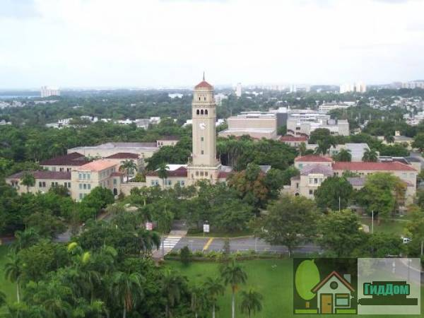 Башня и четверик университета Пуэрто-Рико (University of Puerto Rico Tower and Quadrangle)