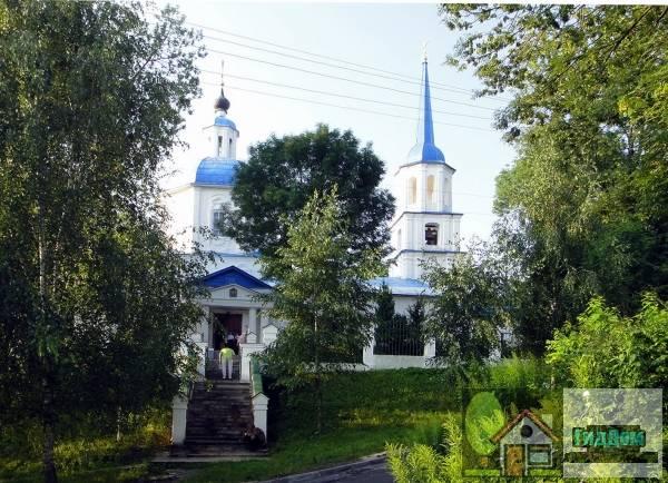 Церковь Тихвинская (Троицкая церковь)