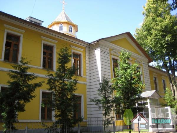 Здание казарм дорогобужского полка
