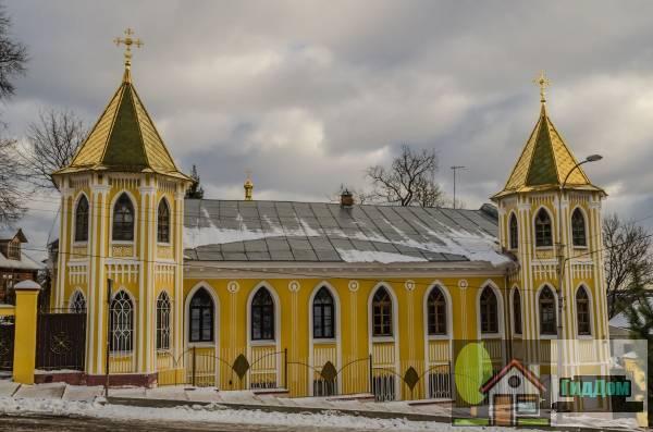 Особняк, здесь в 1918 - 1919 гг. размещался Брянский городской Совет рабочих, крестьянских и красноармейских депутатов