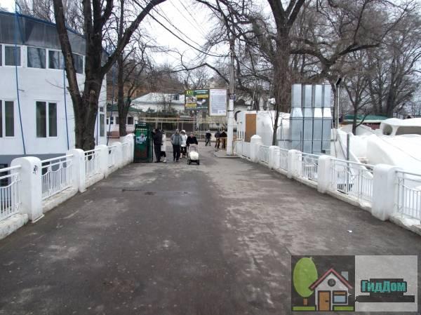 Трамвайный мостик (ориг.: Місток трамвайний). Загружен из открытых источников.