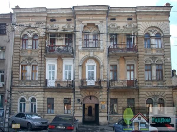 Дом доходный Рыбака (ориг.: Будинок прибутковий Рибака). Загружен из открытых источников.