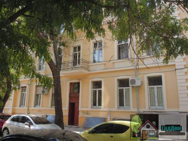 Дом доходный Новикова,в котором в 1926-1936 гг. жил и работал В.А. Шовкуненко - художник (Будинок прибутковий Новикова,в якому в 1926–1936 рр. жив і працював О.О. Шовкуненко - художник)
