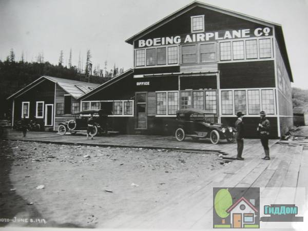 (Building No. 105, Boeing Airplane Company). Загружен из открытых источников.
