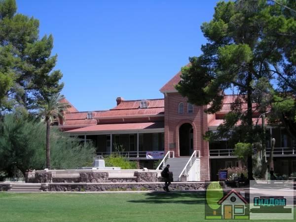 Старый главный, Аризонский университет (Old Main, University of Arizona)