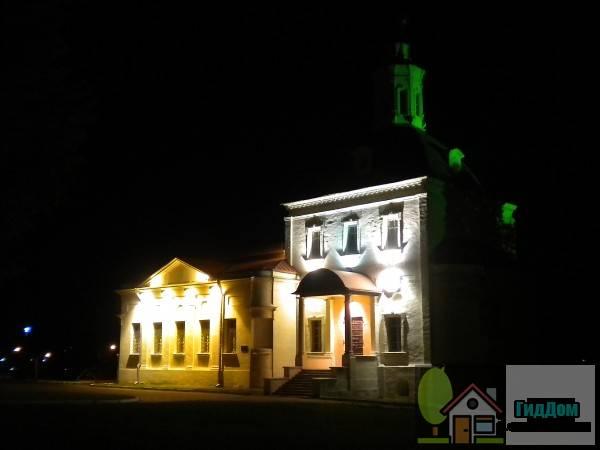 Церковь Воскресенская в крепости